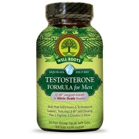 Well Roots Testosterone Formula Supplement for Men Fast-Acting Liquid Softgels 30 ea [710363581688]