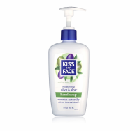 Kiss My Face Moisturizing Hand Soap, Olive & Aloe 9 oz [028367830962]