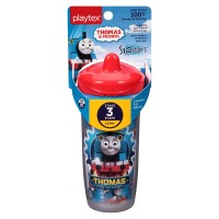 Playtex Sipsters Thomas the Train Spout Sippy Cups 1 ea [078300005360]