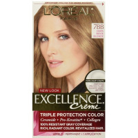 L'Oreal Paris Excellence Creme [7BB] Dark Beige Blonde Haircolor, 1 ea