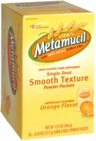 Metamucil Smooth Texture Orange Single Dose Packets 30 Each [037000740872]