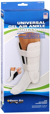 Sport Aid Gel Air Ankle (Hot/Cold) Universal 9 Inch 1 Each [763189215275]
