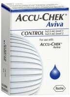 ACCU-CHEK Aviva Control Solution 1 Each [365702107106]