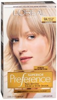 L'Oreal Superior Preference - 9A Light Ash Blonde (Cooler) 1 Each [071249253250]