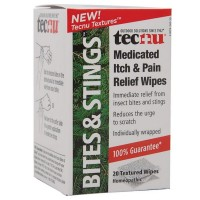Tecnu Medicated Itch & Pain Relief Wipes 20 ea [083926151001]