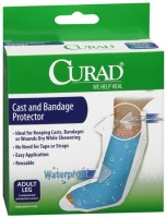 Curad Cast and Bandage Protector Adult Leg 2 Each [080196312491]