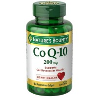 Nature's Bounty Co Q-10 Extra Strength 200 mg Softgels 80 ea [074312171390]