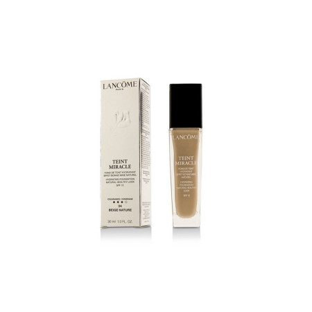 Lancome Teint Miracle Hydrating Foundation Natural Healthy Look SPF 15, #04 Beige, 1.0 oz  [3614271438041]