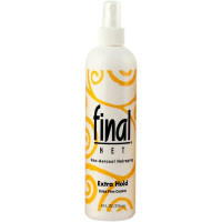 Final Net Non-Aerosol Hairspray, Extra Hold, 8 oz [827755020417]