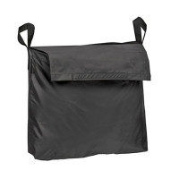Wheelchair Bag by Duro-Med - Storage Bag for Items & Accessories - Travel Storage Tote & Backpack w/Easy Access Pouch & Pockets, Black 1 ea [041298001317]
