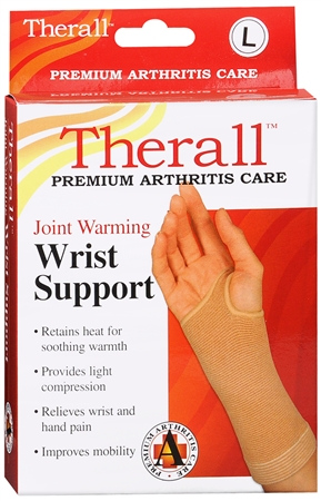 Therall Joint Warming Wrist Support Large 1 Each [719869559405]