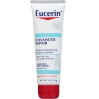 Eucerin Advanced Repair Light Feel Foot Creme, 3 oz [072140636265]