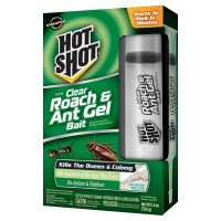 Hot Shot Ultra Clear Roach & Ant Gel Bait 1 ea [071121957696]