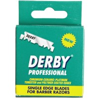 Derby  Professional Single Edge Razor Blades 100 ea [899344001091]