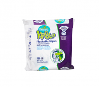 Pampers Kandoo Flushable Wipes, Sensitive 100 ea [814521010055]