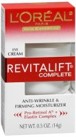 L'Oreal Skin Expertise RevitaLift Complete Eye Anti-Wrinkle & Firming Cream 0.50 oz [071249104613]