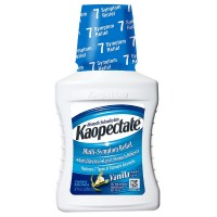Kaopectate Multi-Symptom Relief Anti-Diarrheal/Upset Stomach Reliever Liquid, Vanilla 8 oz [041167400029]