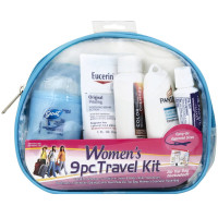 Women's Deluxe 9-Piece Travel Kit 1 ea [079718000732]