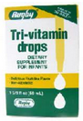 Rugby Tri-Vitamin Drops for Infants 50 ml [305368501801]