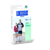 JOBST Men's Dress Knee High 8-15 Closed Toe Socks, Brown, Medium, 1 Pair [035664107895]