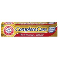 ARM & HAMMER Complete Care Stain Defense Plus Whitening Toothpaste, Fresh Mint 6 oz [033200180531]