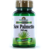 Windmill Herbals Saw Palmetto 160 mg Caplets 60 Caplets [035046007164]