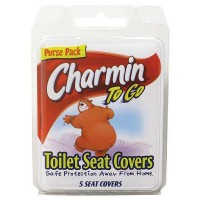 Charmin To Go Toilet Seat Covers 5 ea [083725384006]