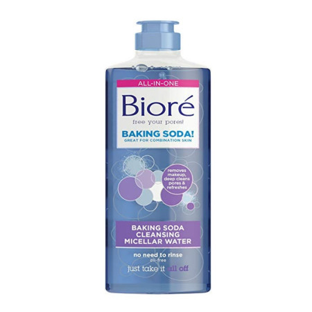 Biore, Baking Soda Cleansing Micellar Water 10 oz [019100246485]