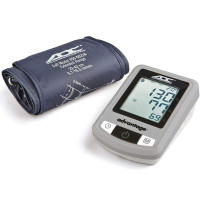 ADC Advantage 6021N Automatic Digital Blood Pressure Monitor with Storage Case, BHS AA Rated, Wide-Range Adult Navy Upper-Arm BP Cuff [634782074791]