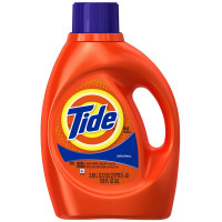 Tide Ultra Liquid Laundry Detergent, Original Scent 100 oz [037000138822]