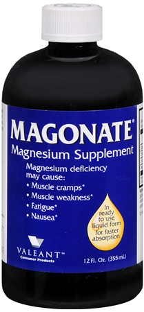 MAGONATE Magnesium Supplement 12 oz [301875267018]