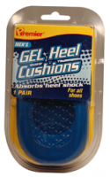 Premier Gel Heel Cushion for Men, One Size 1 pair [034197004626]