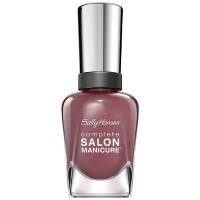 Sally Hansen Complete Salon Manicure Nail Polish, Plum's The Word 0.50 oz [074170399042]