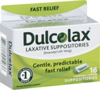 Dulcolax Suppositories 16 Each [681421021036]