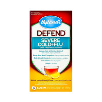 Hyland's Defend Severe Cold and Flu Medicine, Lemon and Honey Flavor, 3.36 oz [354973315624]