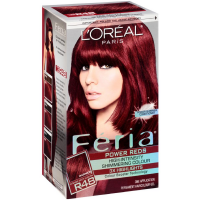 L'Oreal Paris Feria Power Reds High-Intensity Shimmering Color, Intense Deep Auburn [R48] (Warmer) 1 ea [071249241042]