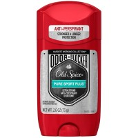 Old Spice Hardest Working Collection Odor Blocker Anti-Perspirant & Deodorant, Pure Sport Plus 2.60 oz [037000944669]