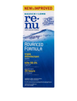 Bausch & Lomb ReNu Advanced Triple Disinfect Formula Multi-Purpose Eye Contact Lens Solution 12 oz [310119043035]