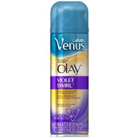 Gillette Venus with a Touch of Olay Shave Gel, Violet Swirl 7 oz [047400653863]