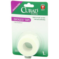 Curad Ouchless Tape 1 in X 2.3 yd 1 ea [080196305110]