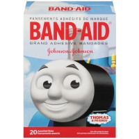 BAND-AID Children's Adhesive Bandages, Thomas & Friends, Assorted Sizes 20 ea [381371162857]