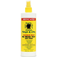 Jamaican Mango & Lime  No More Itch Gro Spray, Maximum Relief  16 oz [714924290439]