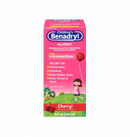 Children's Benadryl Allergy Liquid Cherry 8 oz [350580534083]