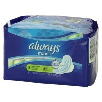 Always Maxi Super Long Flexi-Wings Pads 8 ea [037000349686]