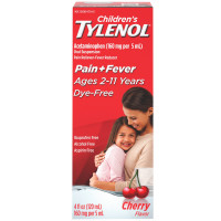 TYLENOL Children's Pain & Fever Liquid, Cherry Flavor 4 oz [300450166043]
