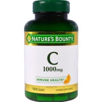 Nature's Bounty Vitamin C 1000 mg Immune Health Caplets 100 ea [074312017070]