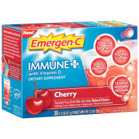 Emergen-C Immune+ System Support with 1000mg Vitamin C Dietary Supplement, 0.31 Ounce Packets 30 ea [885898100519]