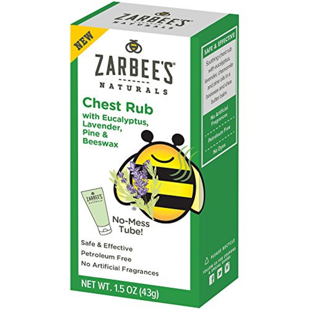 Zarbee S Naturals Chest Rub With Eucalyptus Lavender