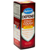 Hyland's Defend Cold + Cough Non-Drowsy Relief Liquid 4 oz [354973312449]