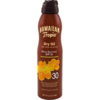 Hawaiian Tropic Dry Oil Clear Spray Sunscreen SPF 30 5.2 oz [075486089658]